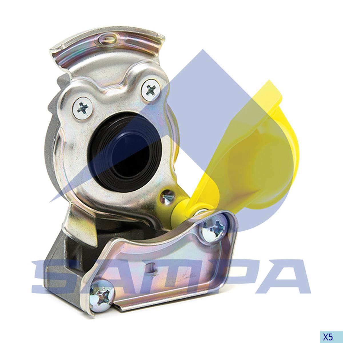 Coupling, Mercedes, Compressed Air System