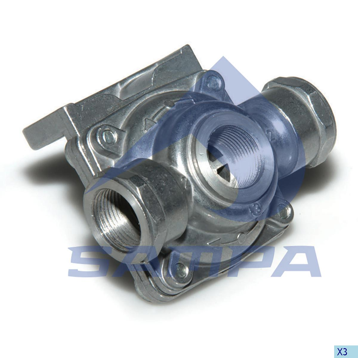 Quick Release Valve, Mercedes, Compressed Air System