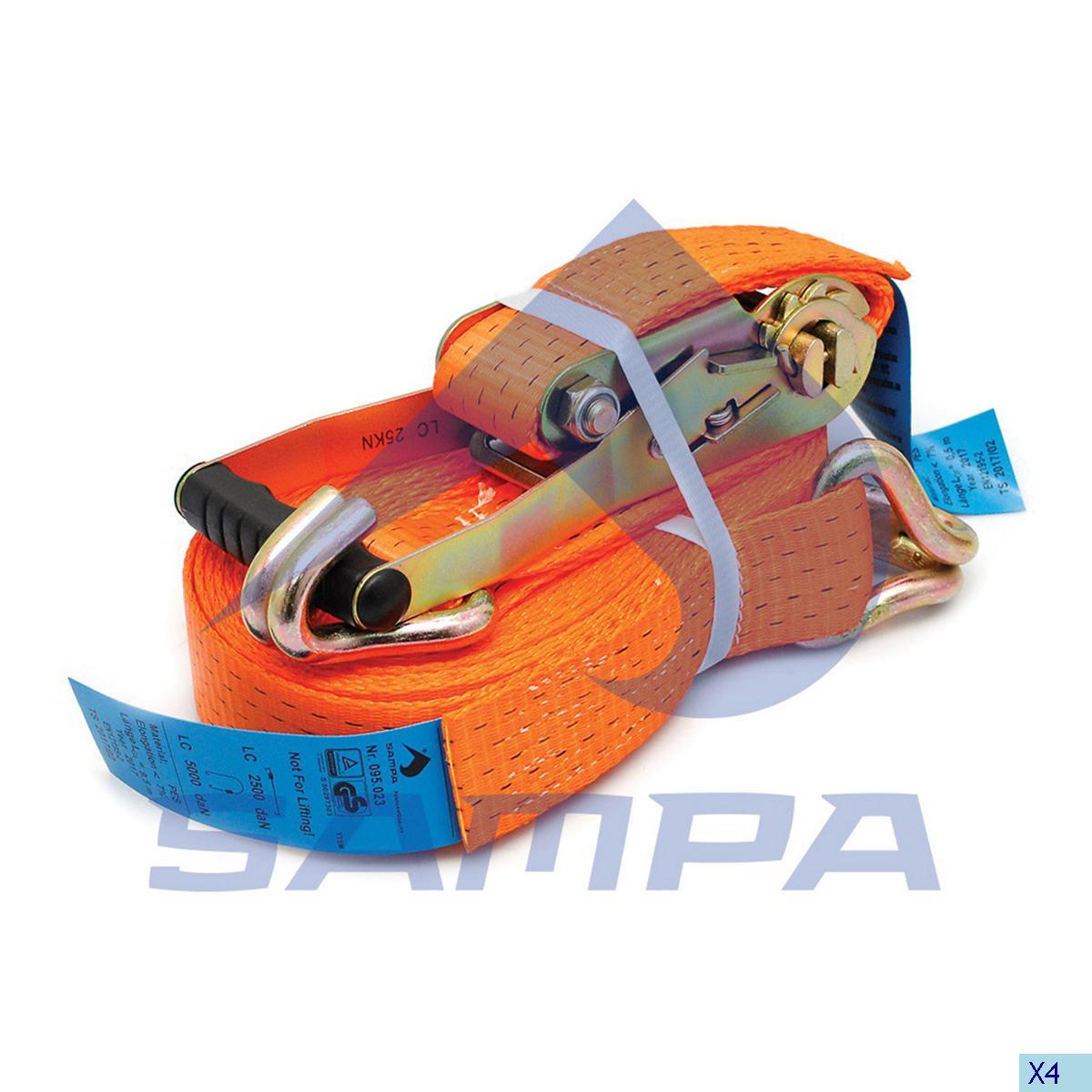 Lashing Strap, Trailer Equipments, Universal, Complementary Equipment