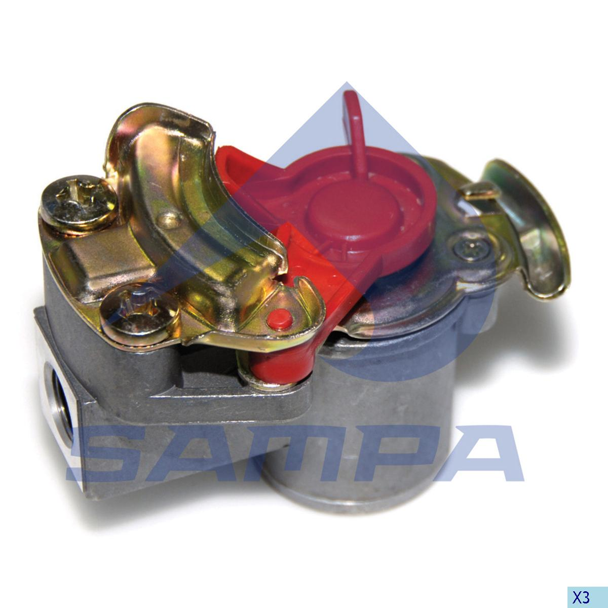 Coupling, Daf, Compressed Air System