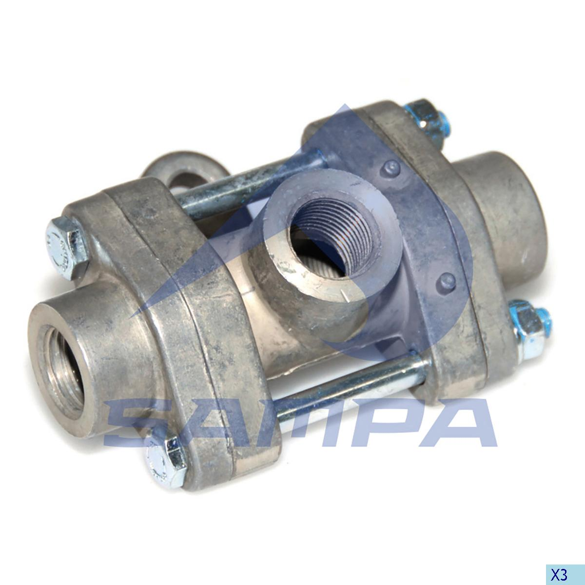 Check Valve, Universal, Compressed Air System