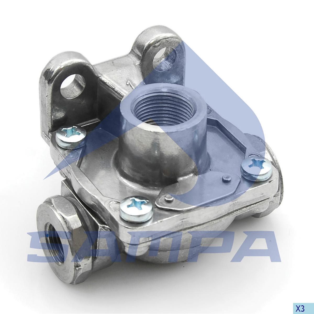 Quick Release Valve, Universal, Compressed Air System