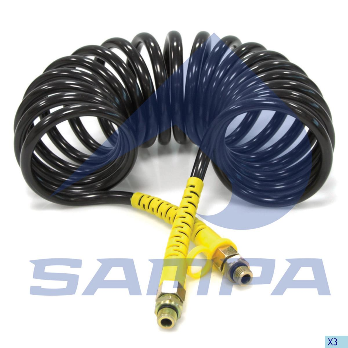 Air Coil, Coupling, Universal, Compressed Air System