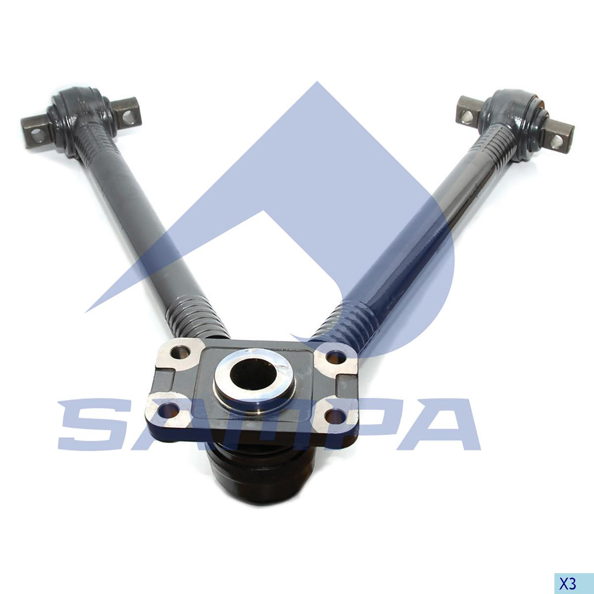 V Arm, Iveco, Suspension