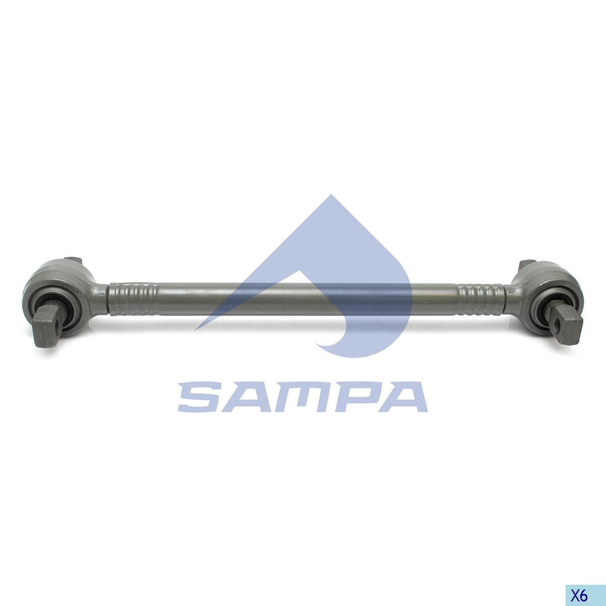 Torque Rod, Iveco, Suspension