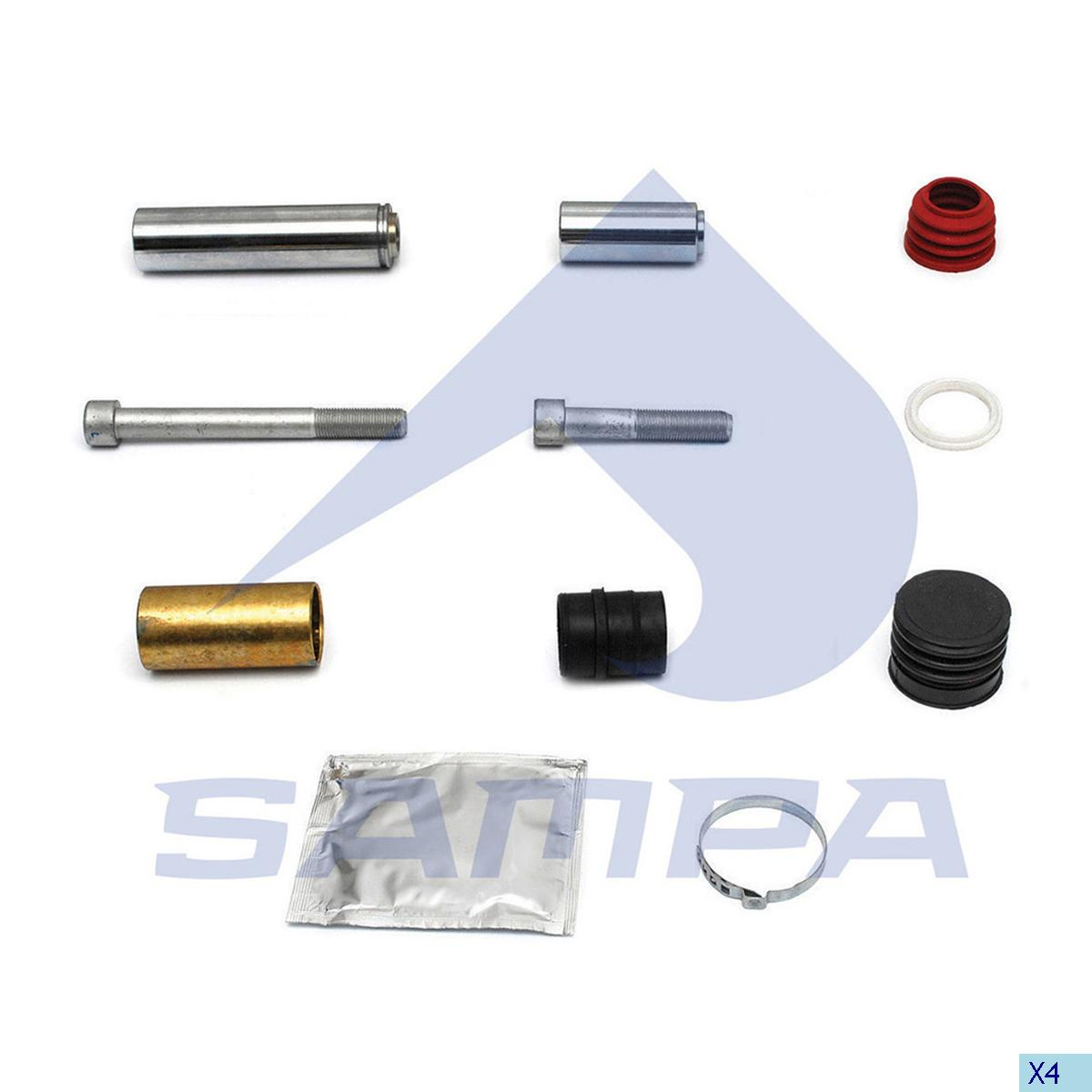 Repair Kit, Brake Caliper, Mercedes, Brake