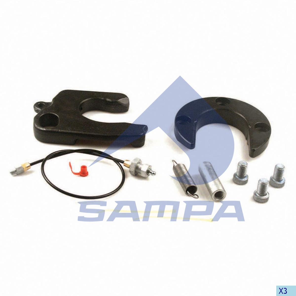 Repair Kit, Fifth Wheel, Jost, Complementary Equipment