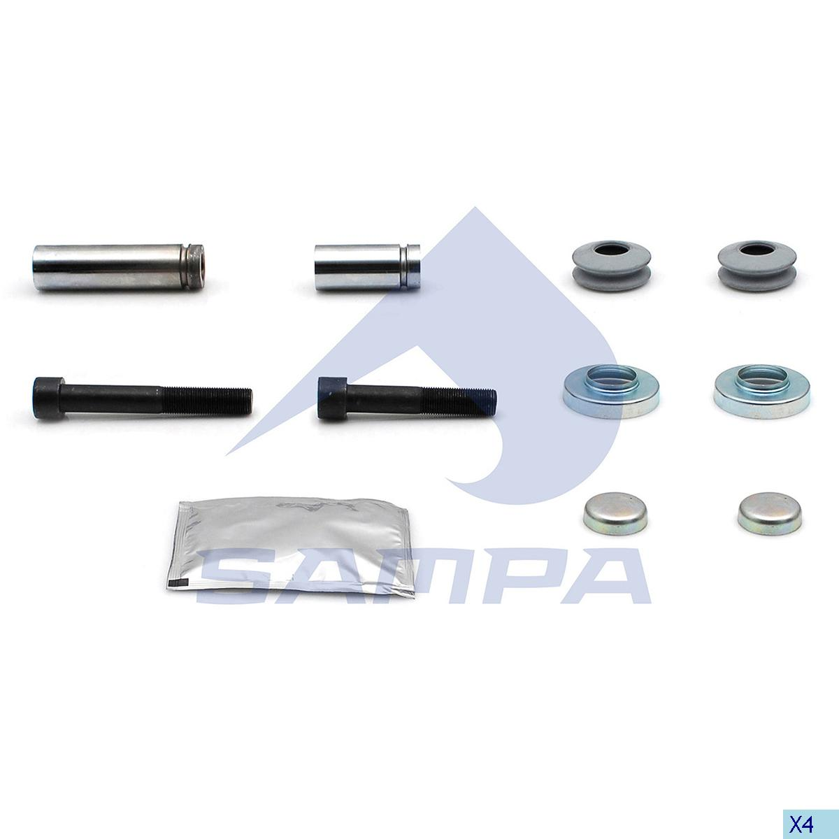 Repair Kit, Brake Caliper, R.V.I., Brake