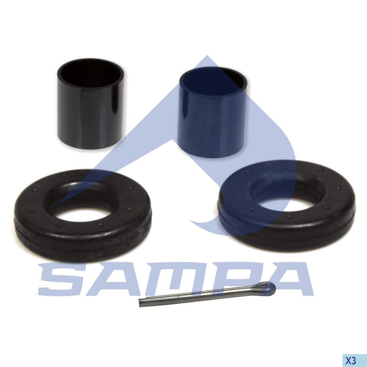 Repair Kit, Trailer Coupling, Complementary Equipment
