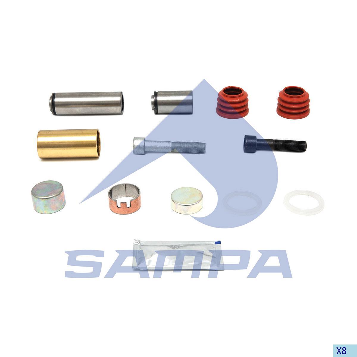 Repair Kit, Brake Caliper, Sauer Achsen, Brake