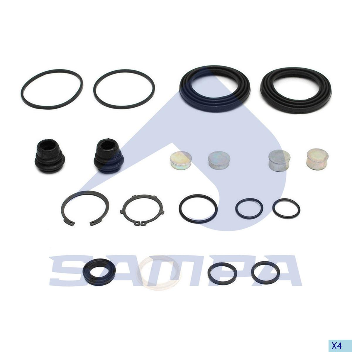 Repair Kit, Brake Caliper, Daf, Brake