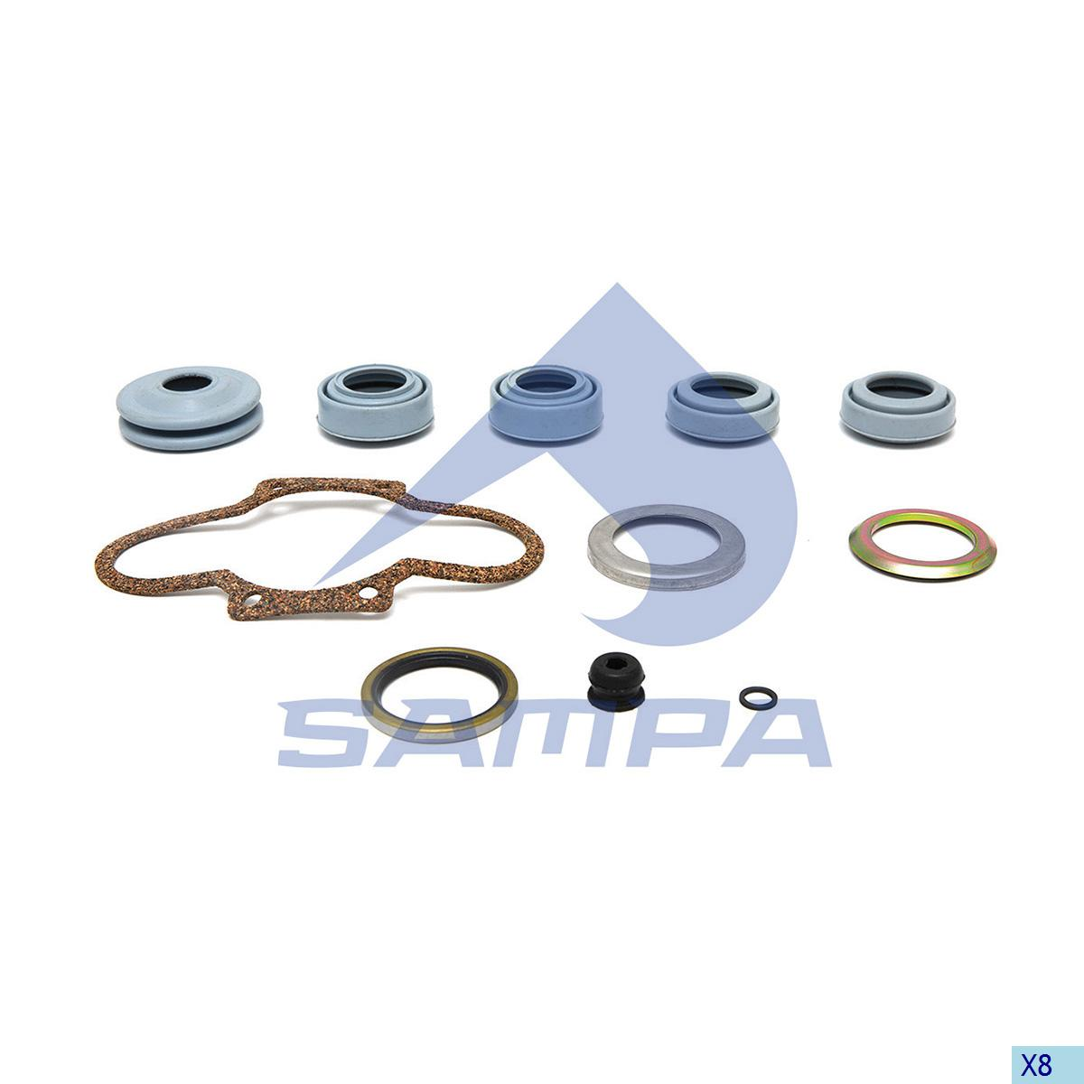Repair Kit, Brake Caliper, Ror-Meritor, Brake