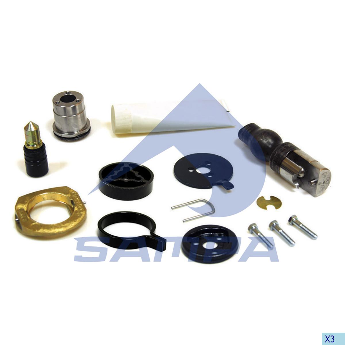 Repair Kit, Trailer Coupling, Rockinger, Complementary Equipment