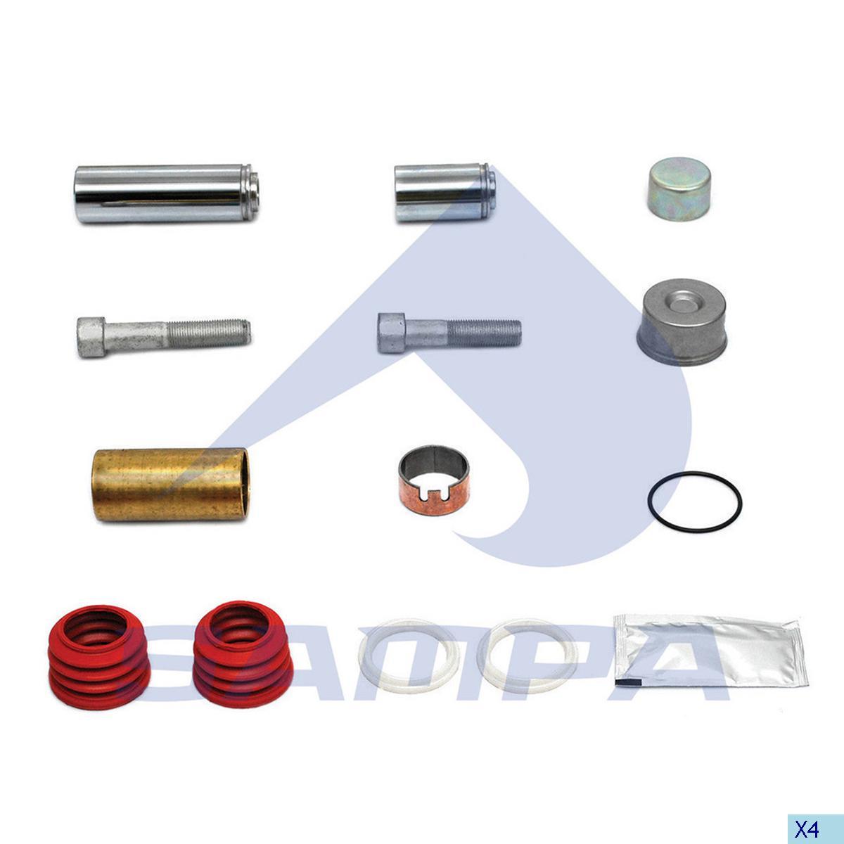 Repair Kit, Brake Caliper, Man, Brake