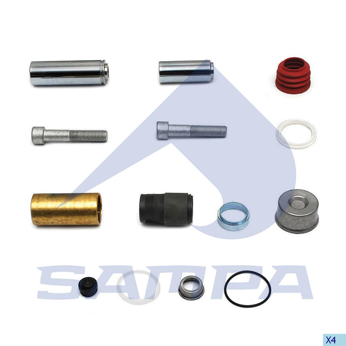 Repair Kit, Brake Caliper, Bergische Achsen, Brake