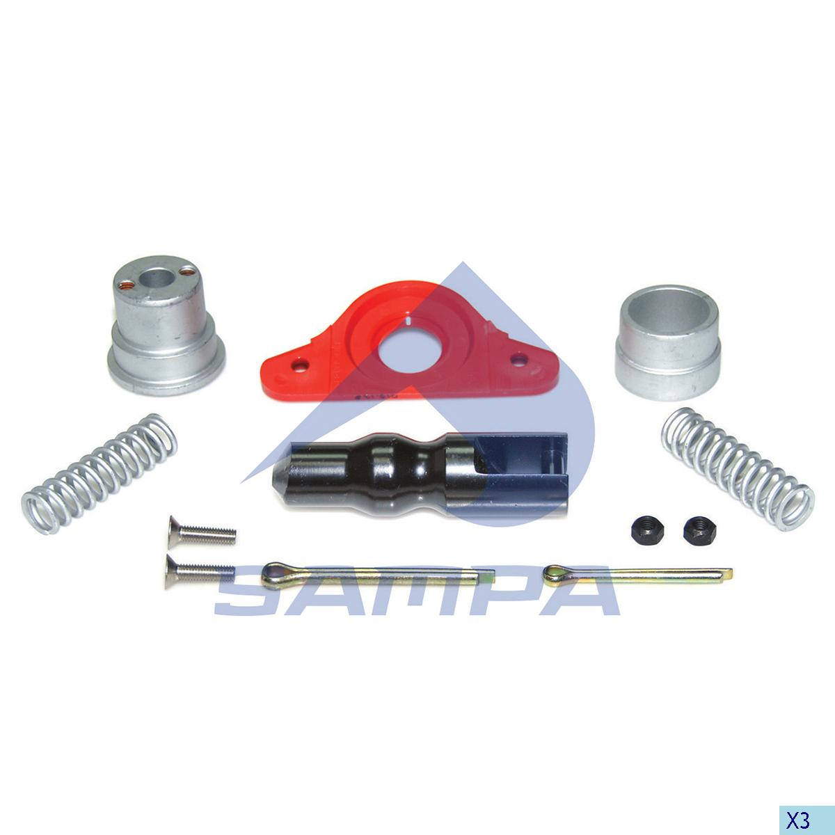 Repair Kit, Trailer Coupling, Complementary Equipment