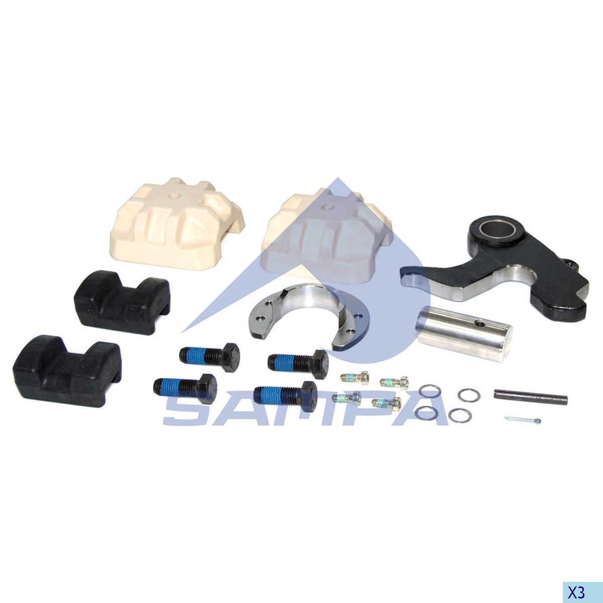 Repair Kit, Fifth Wheel, Complementary Equipment