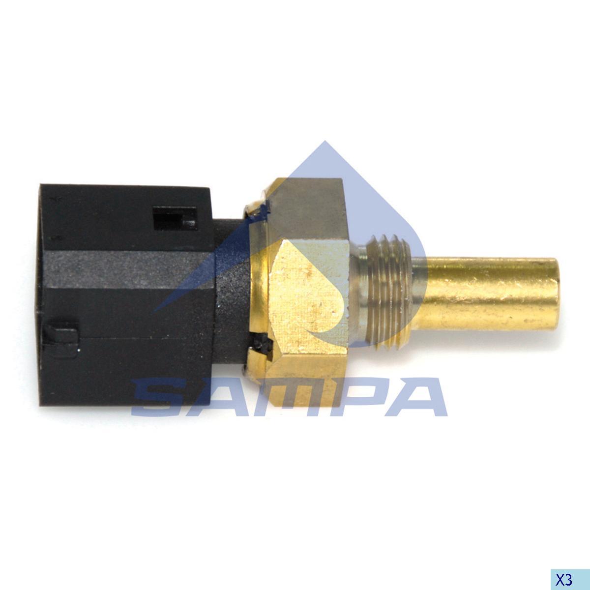 Oil Pressure Sensor, Volvo, Electric System