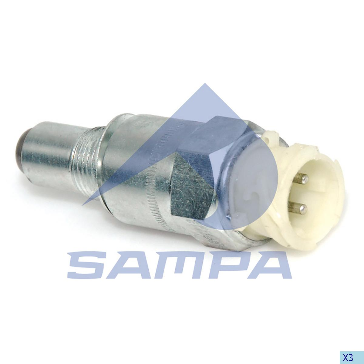 Speed Sensor, Scania, Electric System
