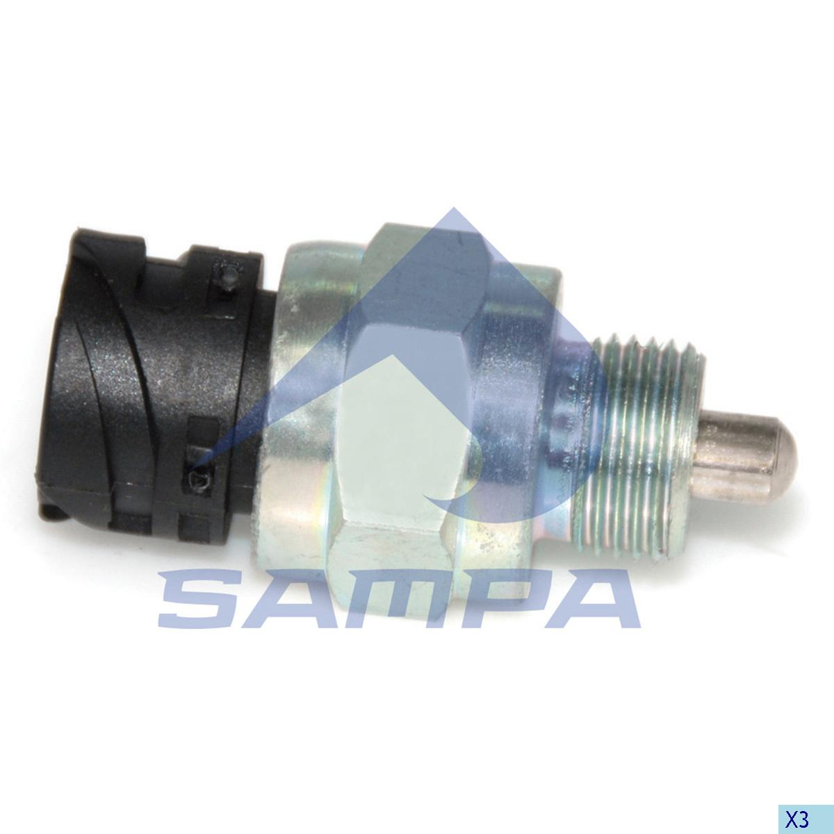 Sensor, Gear Selector Housing, Scania, Gear Box