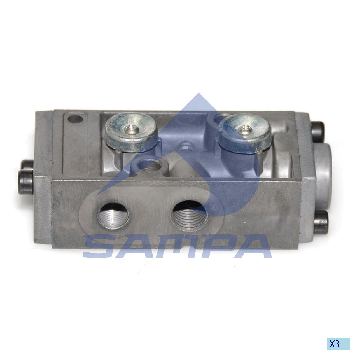 Valve, Gear Box Housing, Man, Gear Box