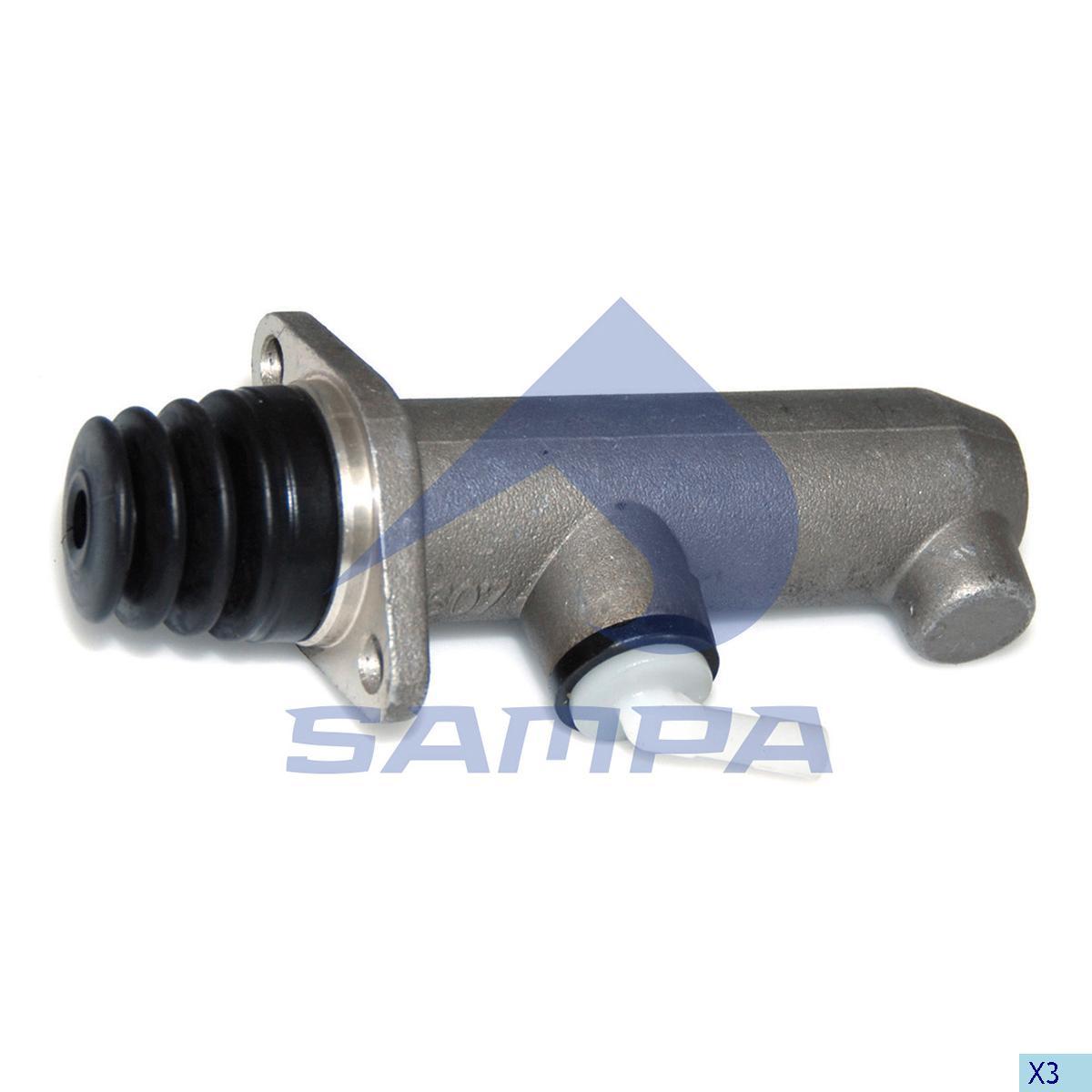 Main Cylinder, R.V.I., Clutch