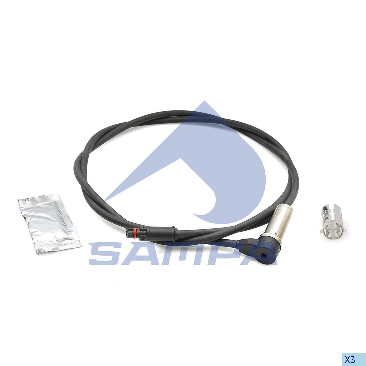 Sensor, ABS, Iveco, Brake