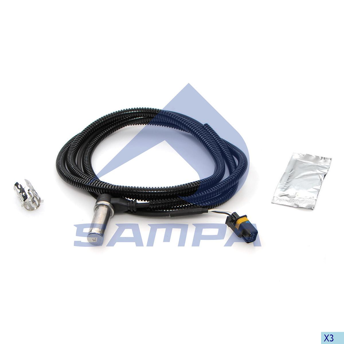 Sensor, ABS, Man, Brake