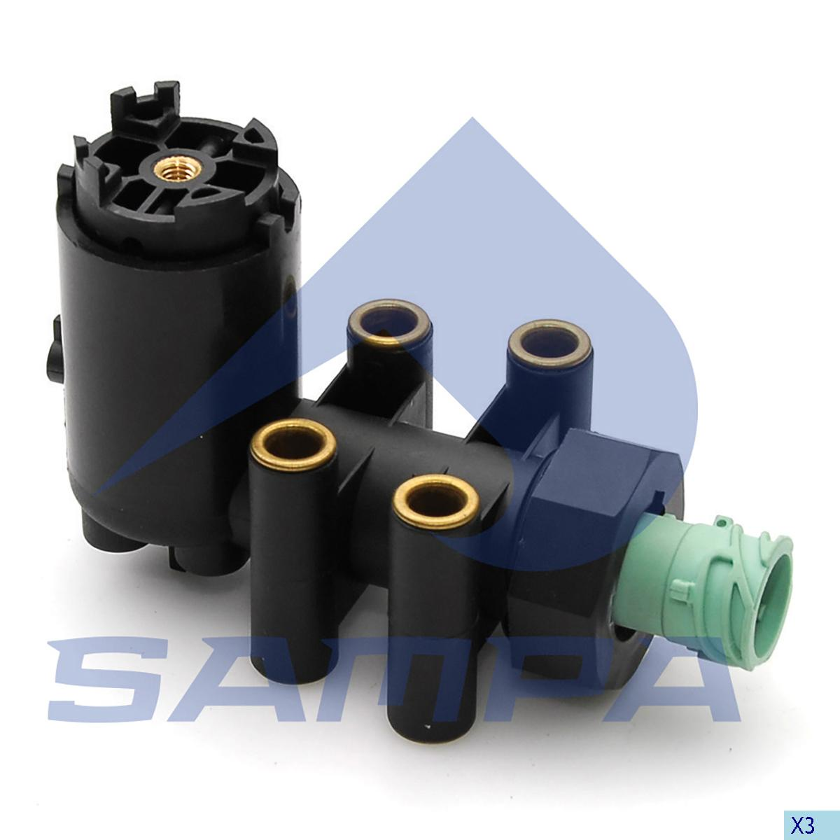 Levelling Valve, Iveco, Compressed Air System