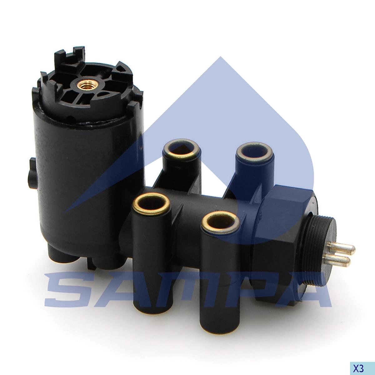 Levelling Valve, Scania, Compressed Air System