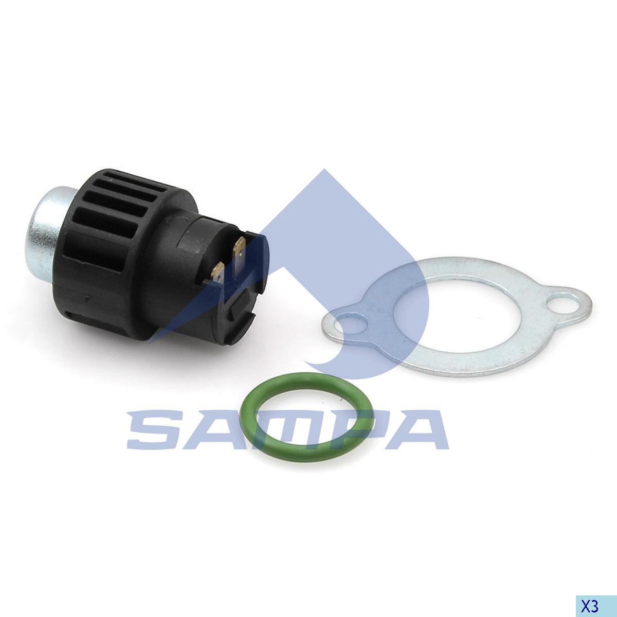 Sensor, Gear Selector Housing, Volvo, Gear Box