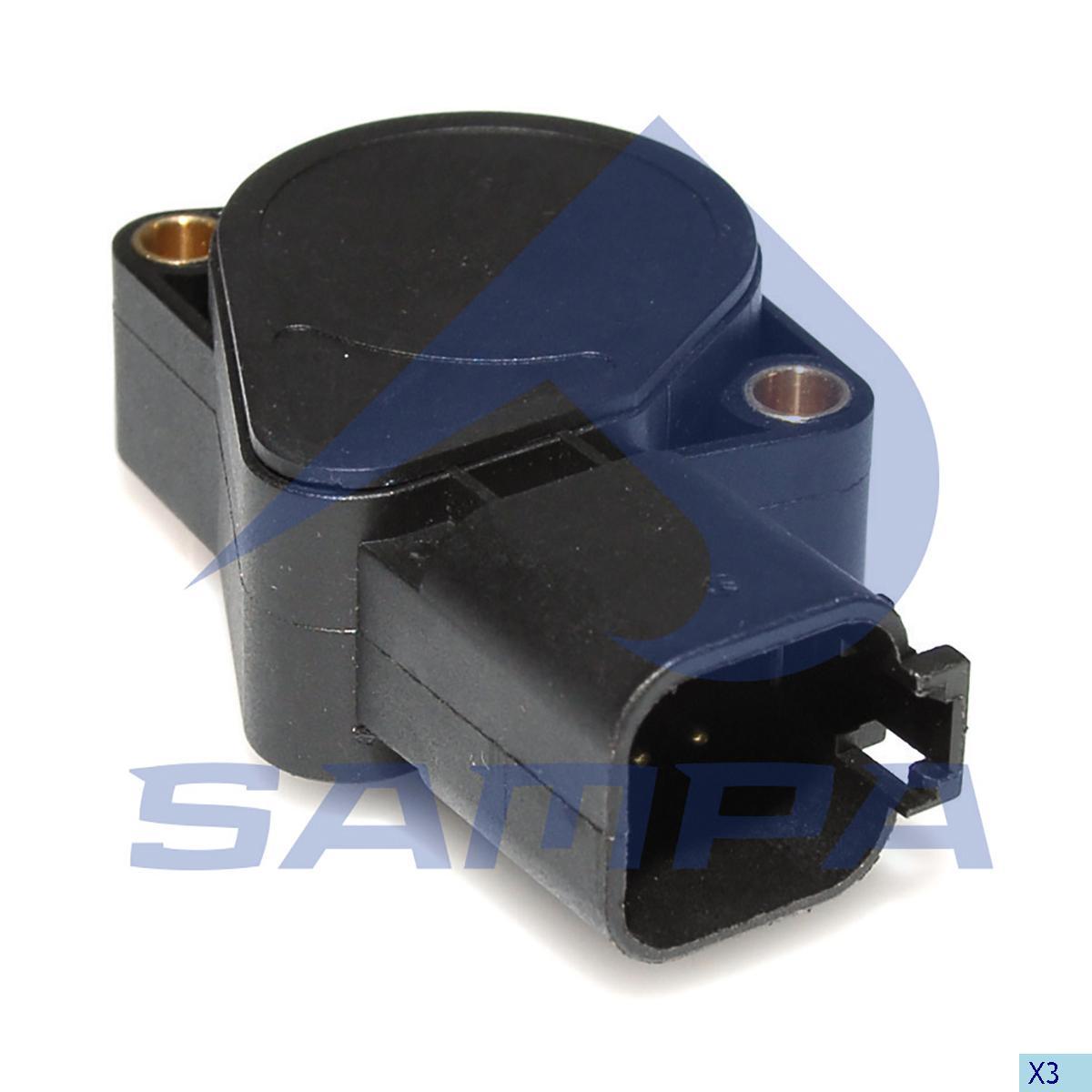 Sensor, Accelerator Pedal, Volvo, Engine