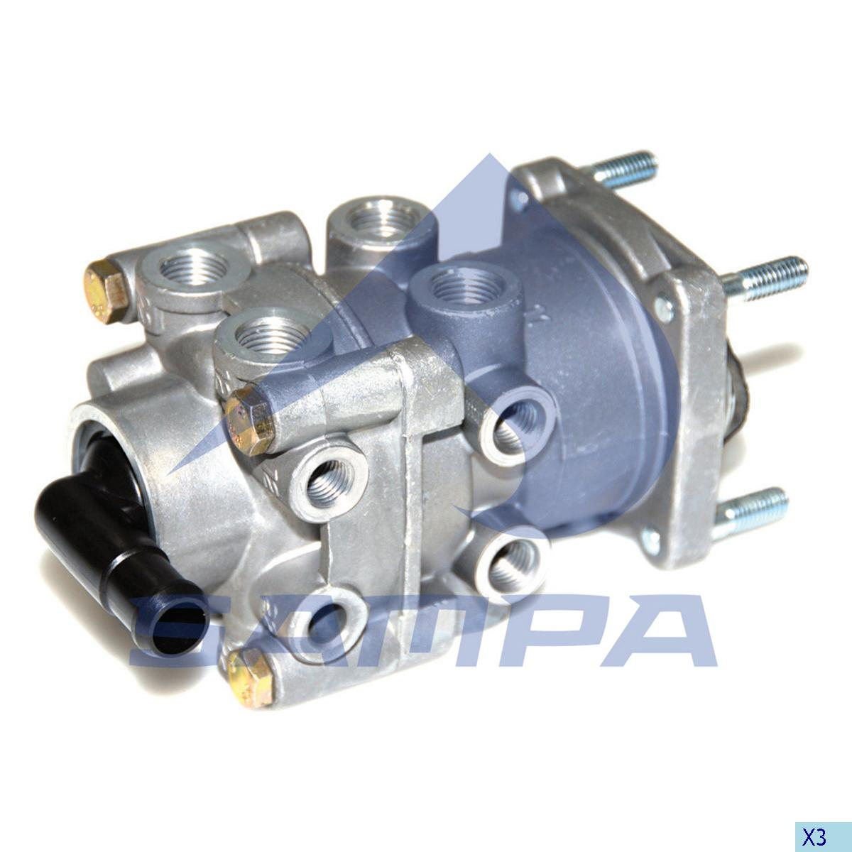 Foot Brake Valve, Volvo, Compressed Air System