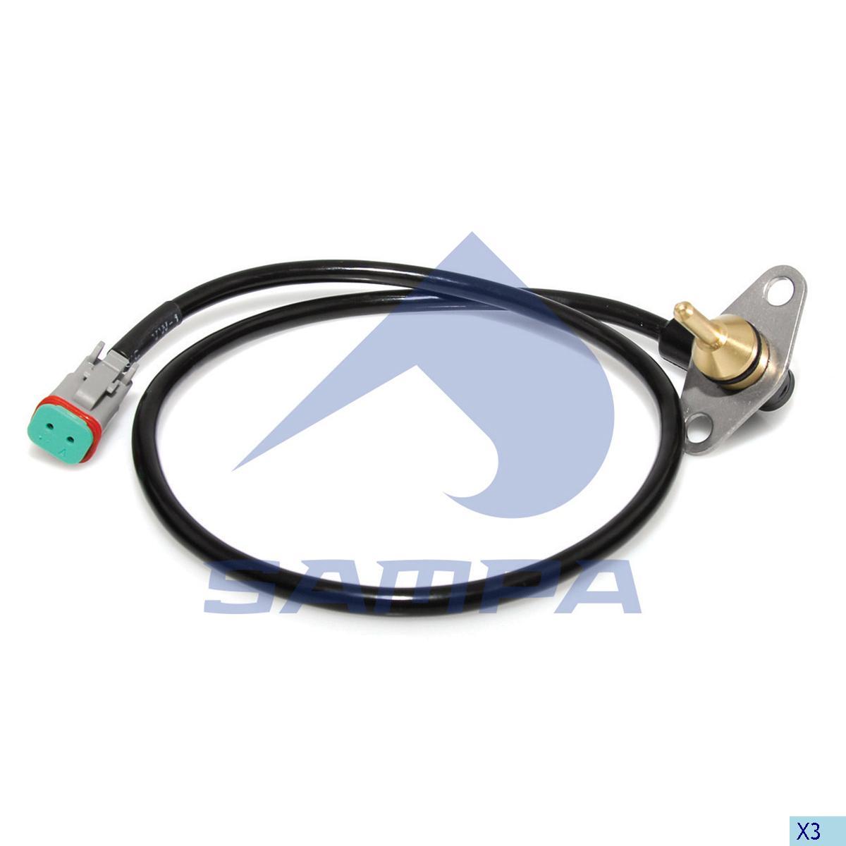Temperature Sensor, Scania, Electric System