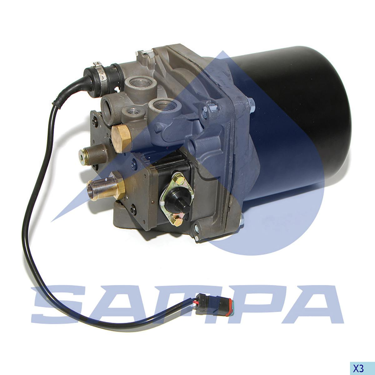 Air Dryer, Scania, Compressed Air System