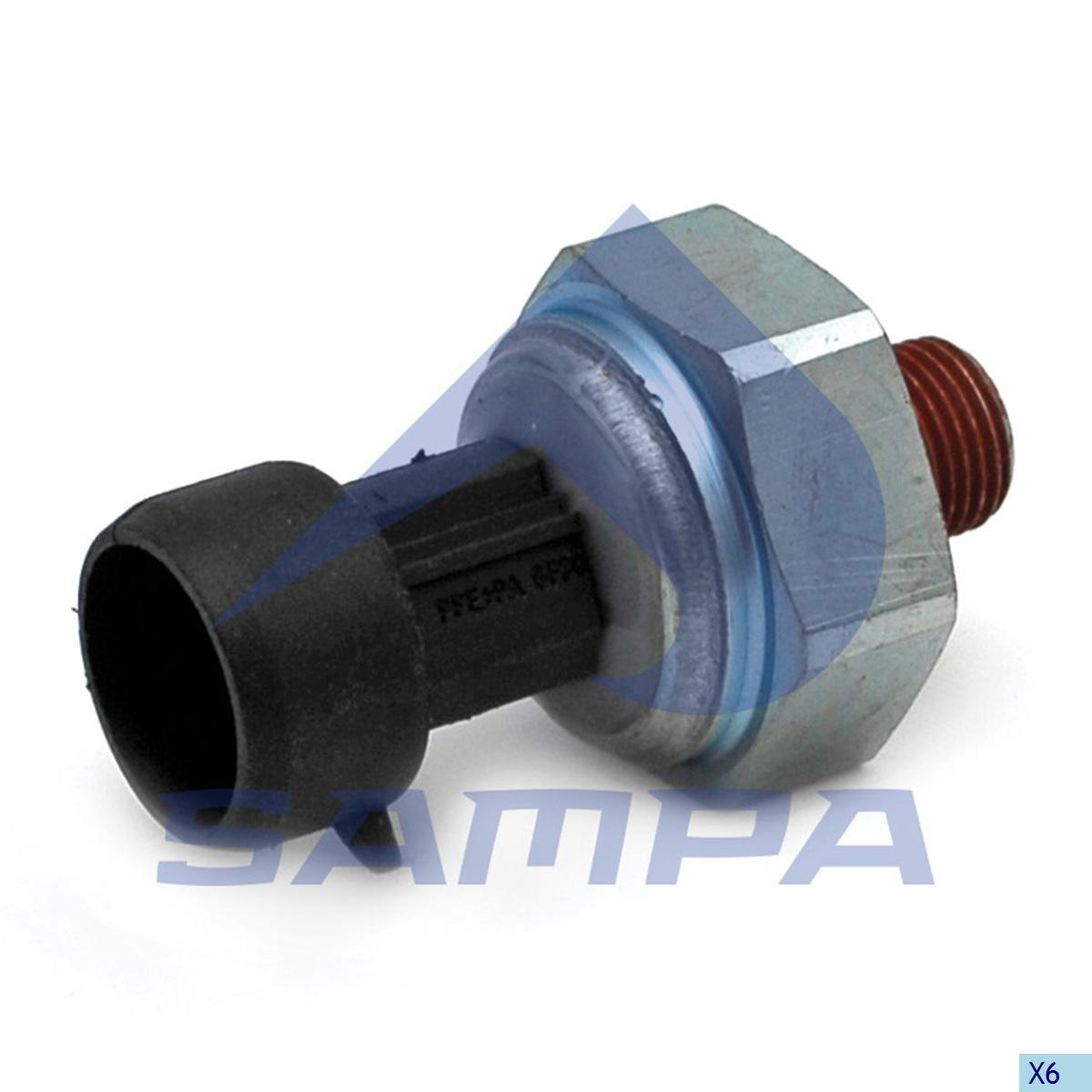 Oil Pressure Sensor, R.V.I., Electric System
