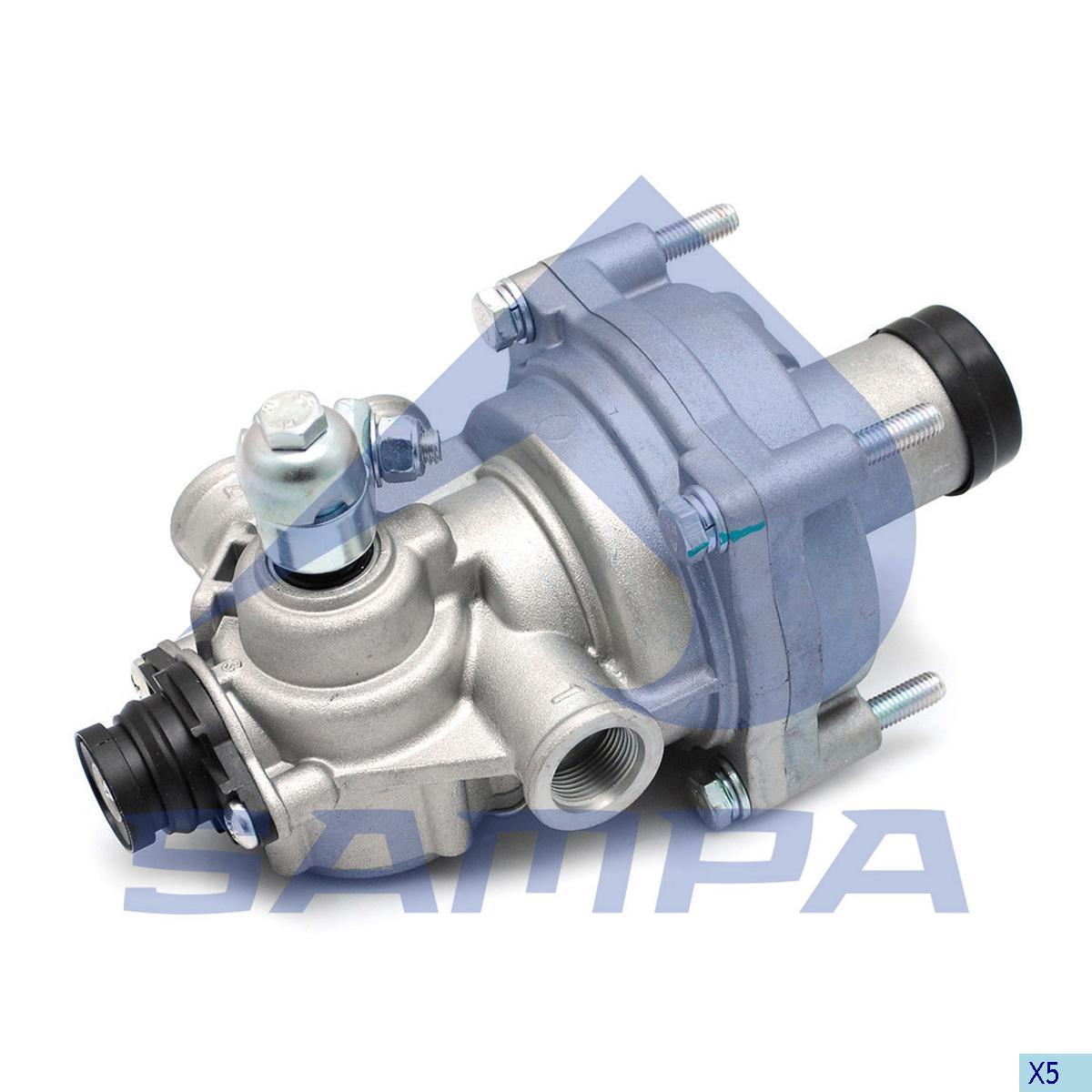 Brake Pressure Regulator, Mercedes, Compressed Air System