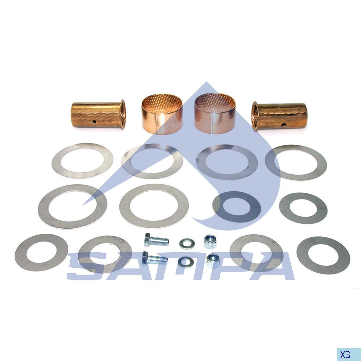 Repair Kit, Fifth Wheel, Georg Fischer, Complementary Equipment