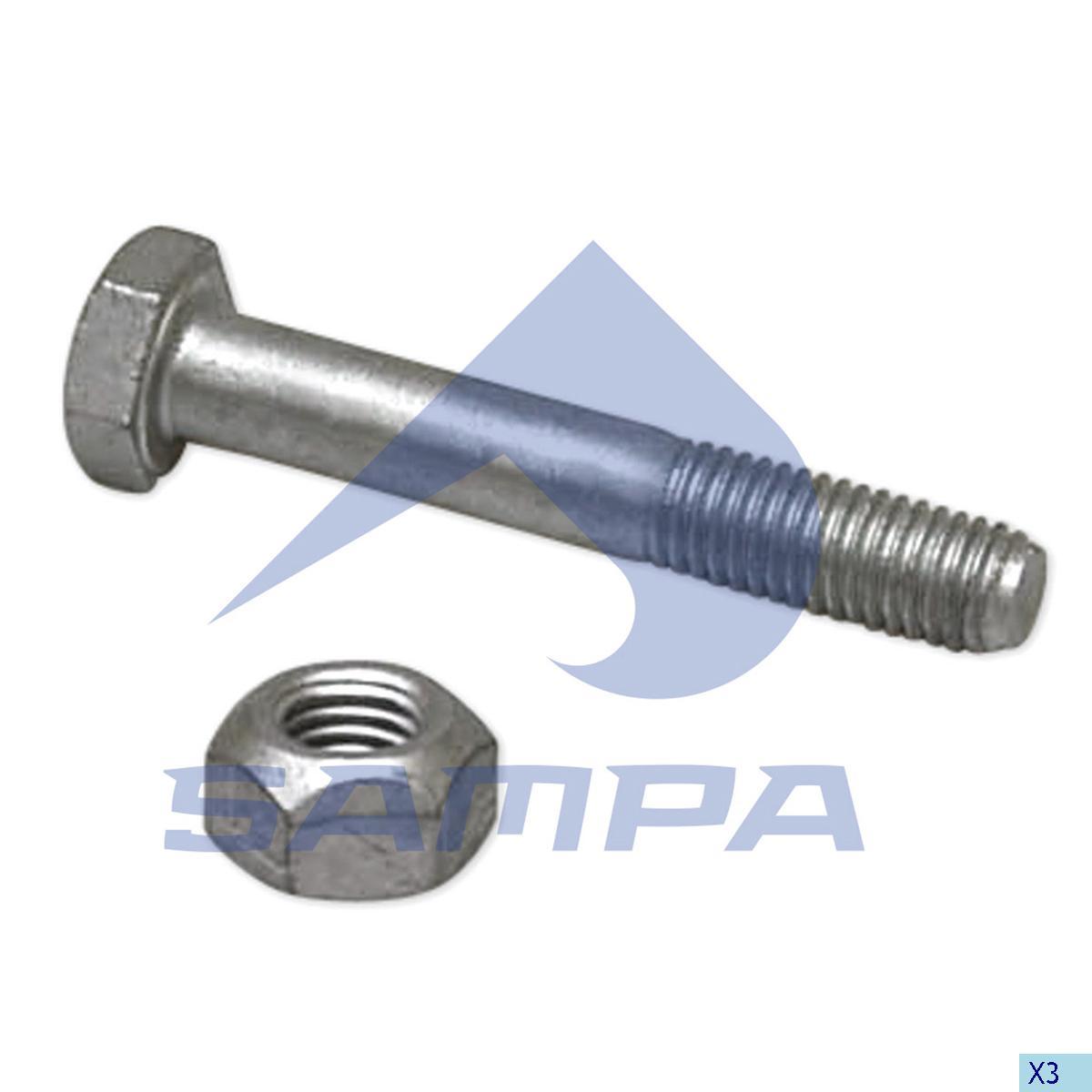 Repair Kit, Fifth Wheel, Jost, Complementary Equipment