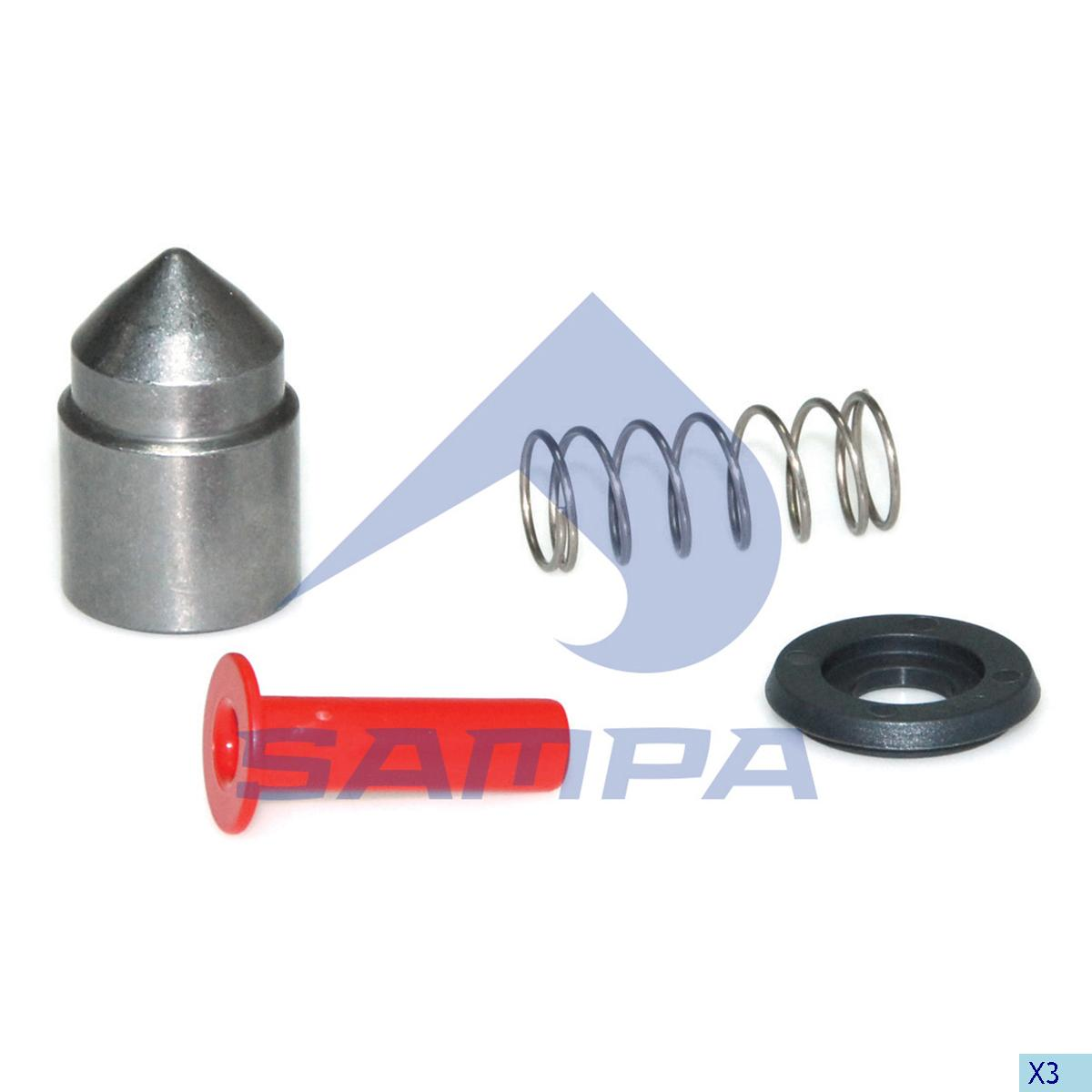 Repair Kit, Trailer Coupling, Ringfeder, Complementary Equipment