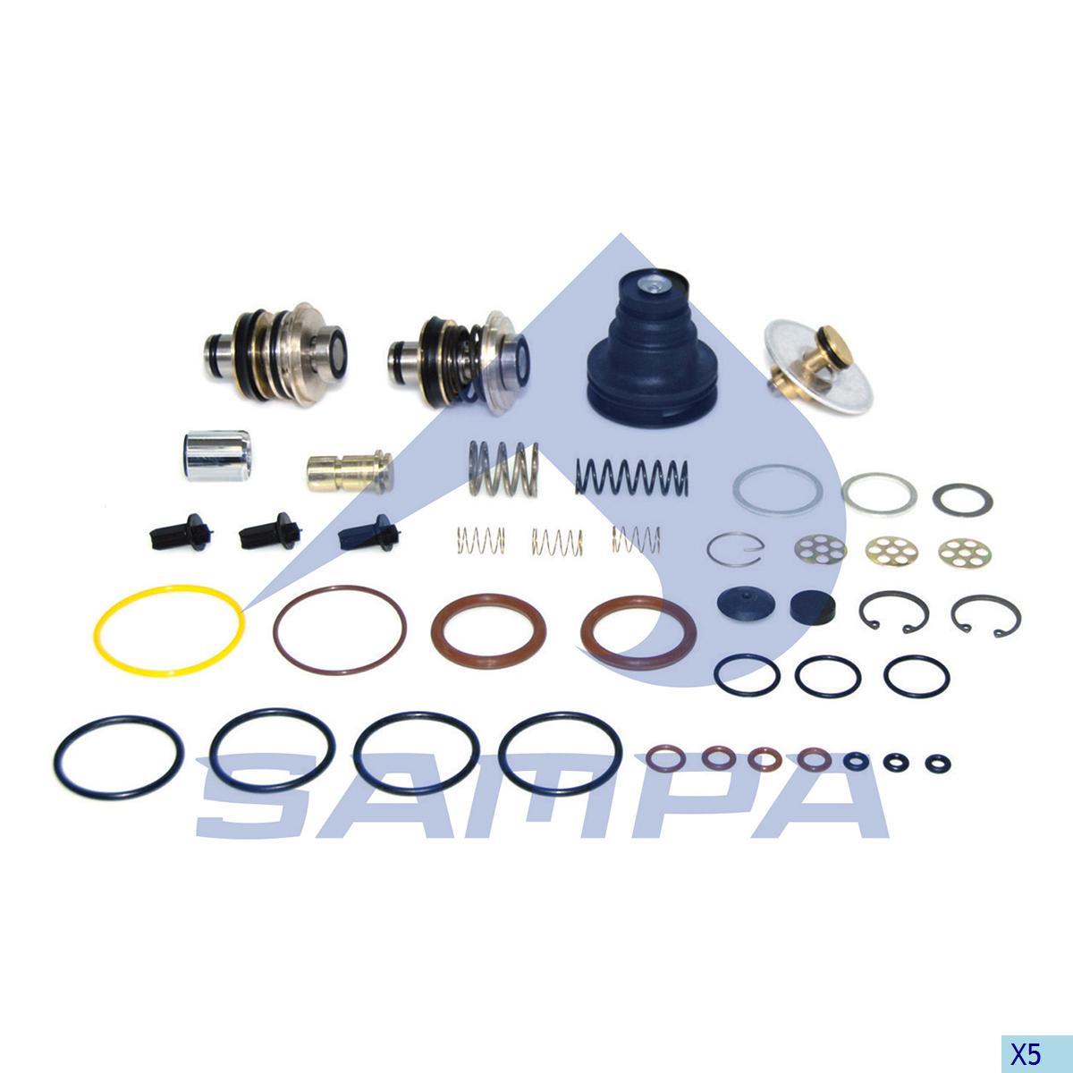 Repair Kit, Valve, Volvo, Compressed Air System