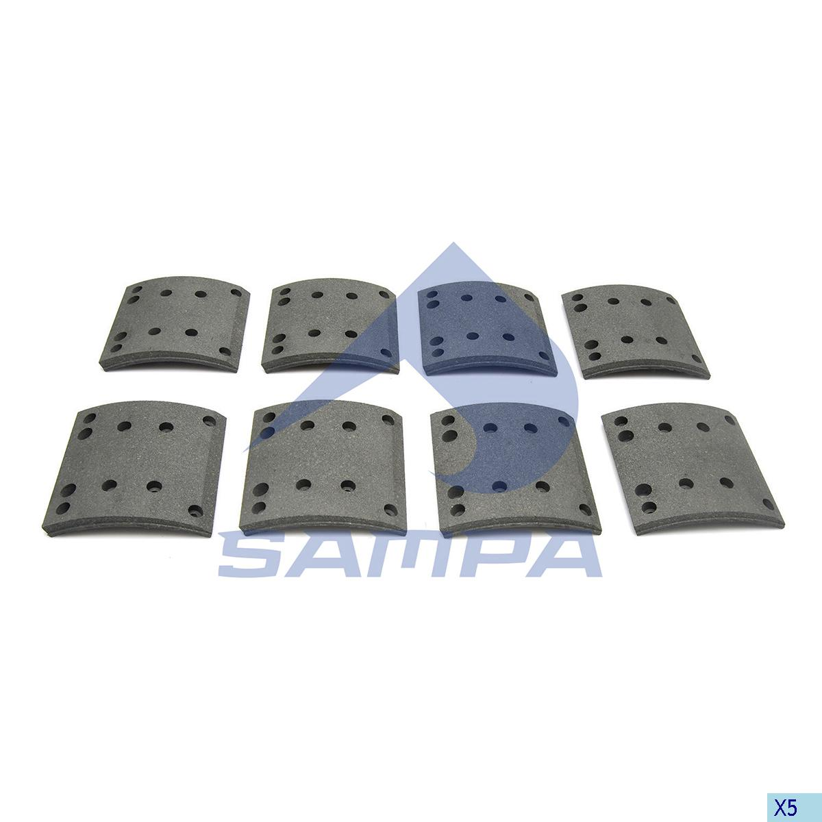 Lining Kit, Brake Drum, Man, Brake