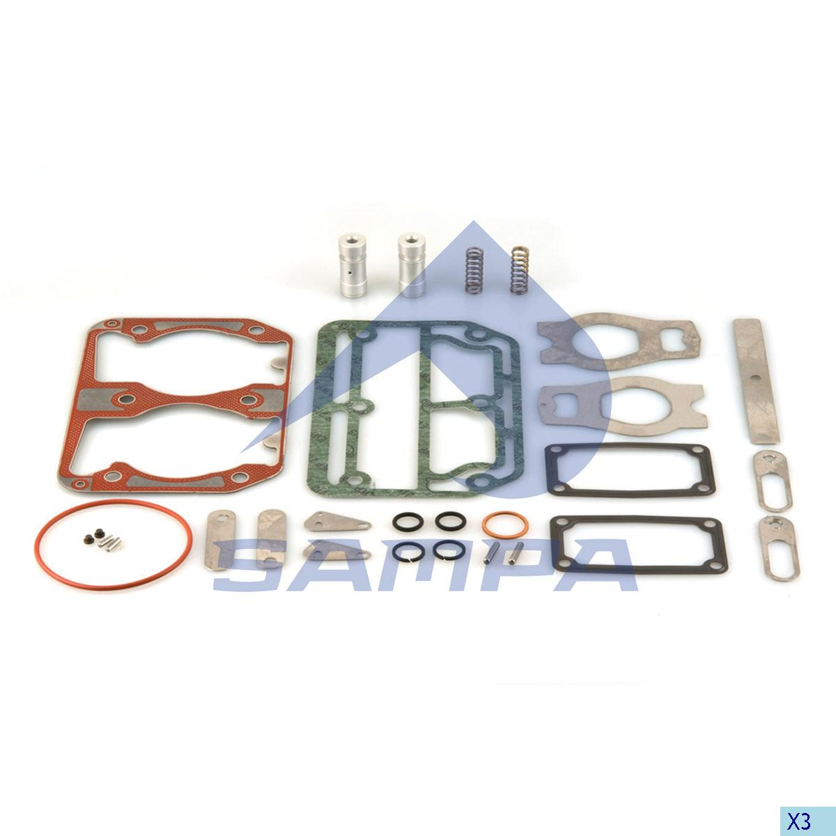 Repair Kit, Cylinder Head, Volvo, Compressed Air System
