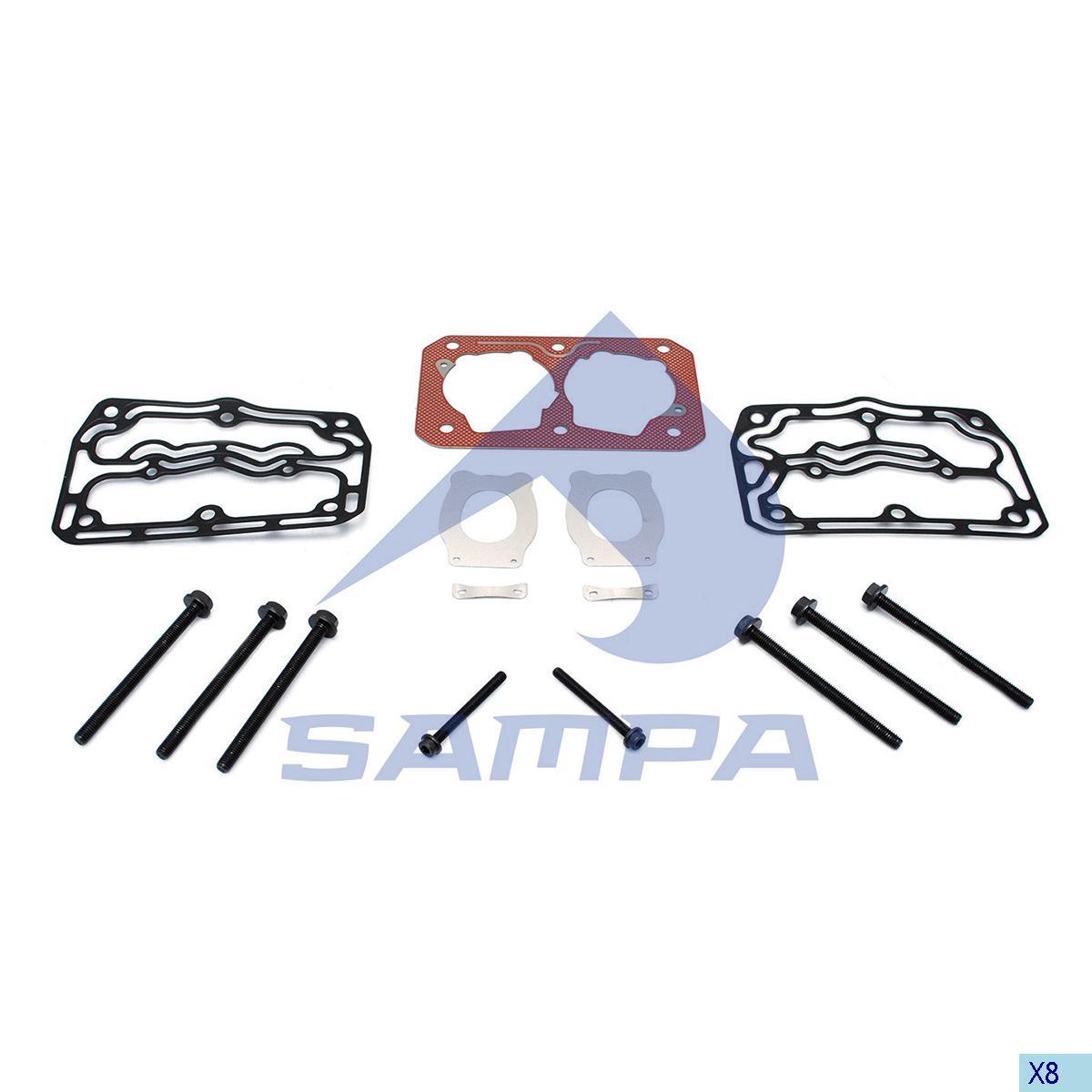 Repair Kit, Cylinder Head, Daf, Compressed Air System