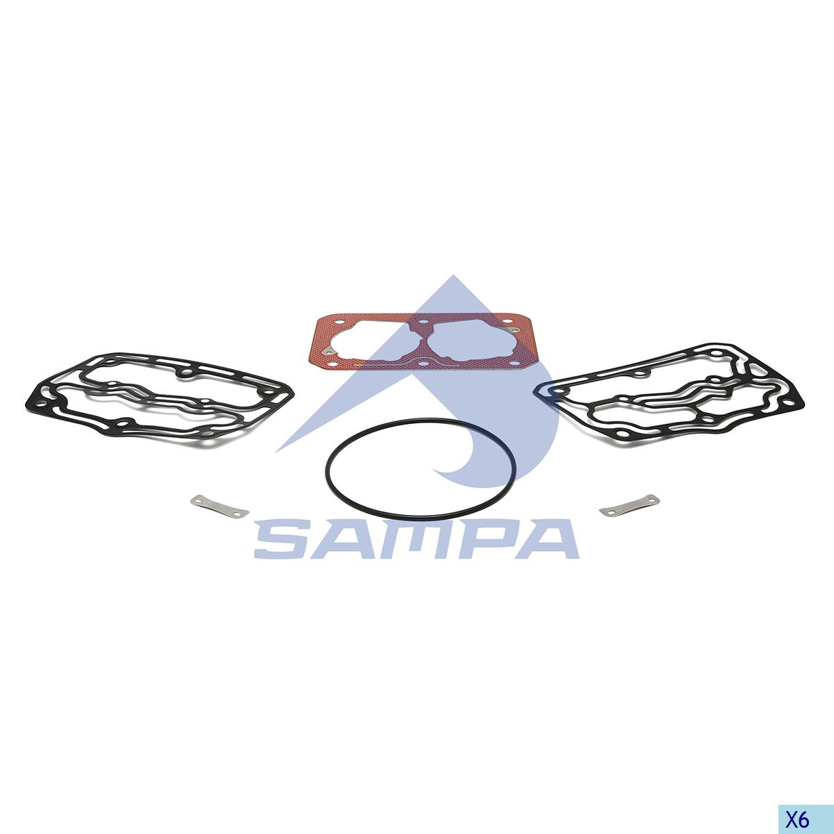 Gasket Kit, Compressor, Daf, Compressed Air System