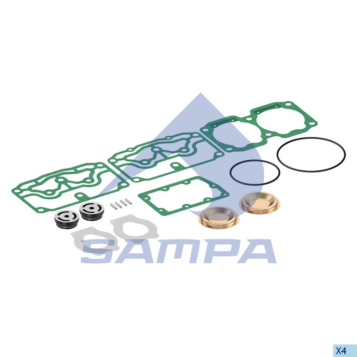 Repair Kit, Compressor, Volvo, Compressed Air System