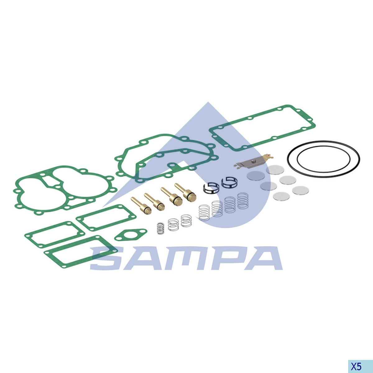 Repair Kit, Compressor, Scania, Compressed Air System