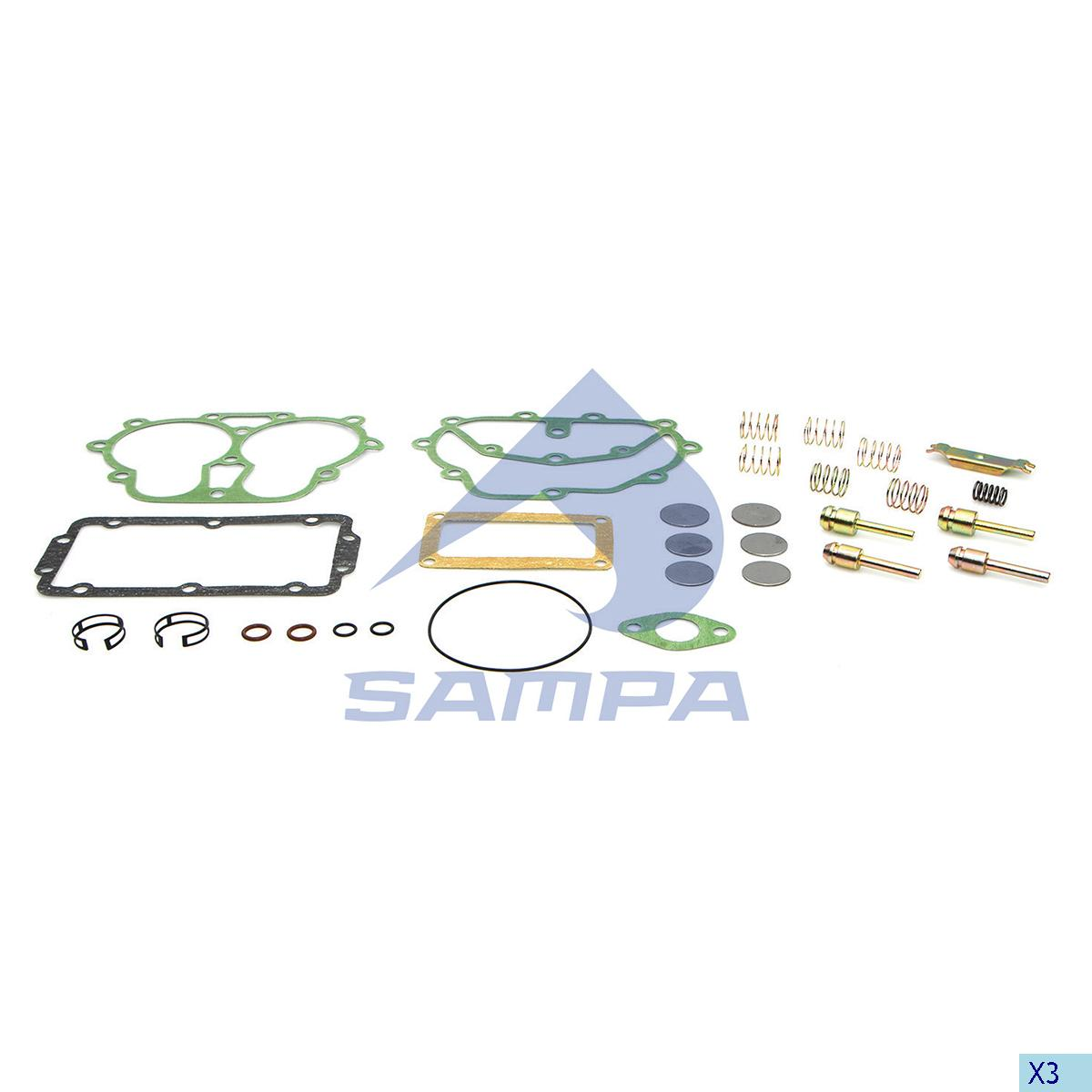 Repair Kit, Compressor, Scania, Compressed Air System