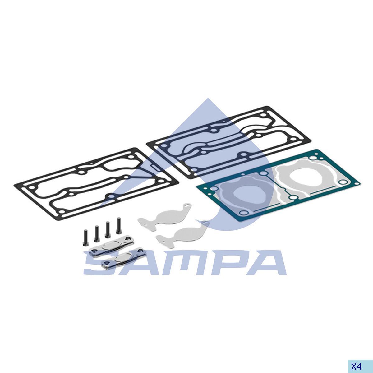 Repair Kit, Cylinder Head, Mercedes, Compressed Air System