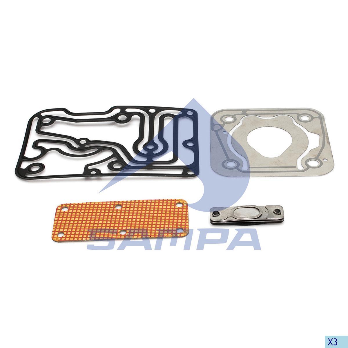 Repair Kit, Cylinder Head, Man, Compressed Air System